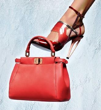 accessori metallici borse e scarpe
