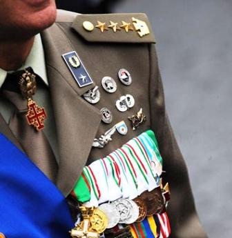 produzione medaglie militari