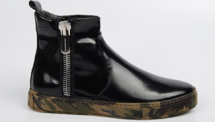 zip scarpa uomo